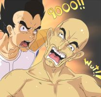 ITS OVER 9000 Color by ManiacPaint