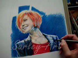Hayley Williams by Sarley-Art