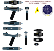 Star fleet Type 1@2 phaser star fleet technical by bagera3005