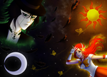 Tuxedo Ulquiorra and Sailor Orihime by IveWasHere