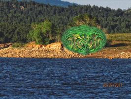 Monster on the Lake by whendt