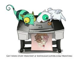 SixthLeafClover Custom Print Service by The-SixthLeafClover