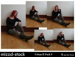 Urban Series II Pack 9 by mizzd-stock