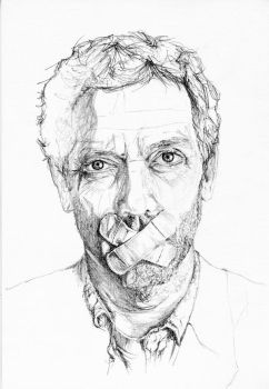 Hugh Laurie by MissGeorgeSpiggott