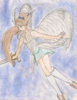 Soleen's sword ability Seraphim by kingofthedededes73