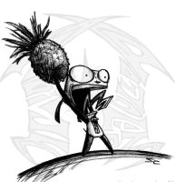 Pineapple GIR by WNoisePollution