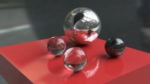 Experimenting with Mental ray and HDRI by Furious-Midget