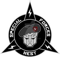 Transformers NEST Special Forces Custom Logo by cbunye