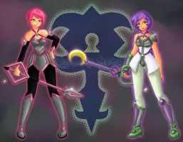 The Keyblade Masters by 0XsarachanX0