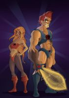 thundercats color by david-diaz
