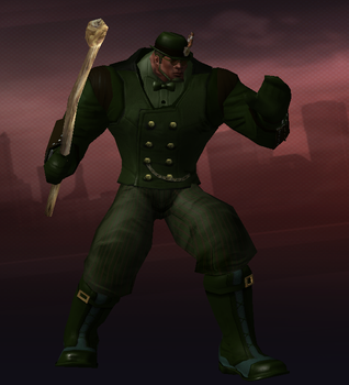 City of Heroes: Shillelagh by CaptFox