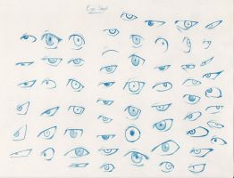 60 Eyes by Pencil-Fluke