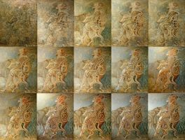 Rape of Europa.(workflow) by INDRIKoff