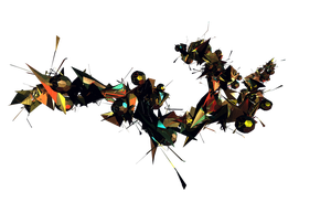 C4d Abstract by Skrillex10