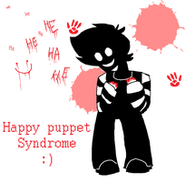 Happy puppet syndrome by MindART-ftw