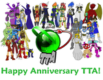 TTA's First Year Anniversary by Kirbopher15