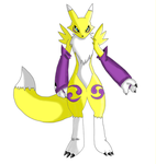 Renamon Pose by Rengard by renamon-fan-club