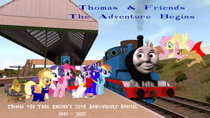 The Adventure Begins Review Title Card by PereMarquette1225