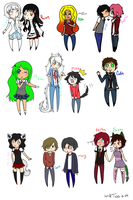 Brookview chibis page 1 by Tess-Is-Epic