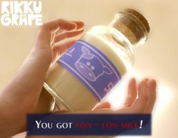 You got Lon-Lon Milk! by RikkuGrape