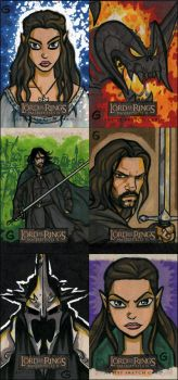LOTR Cards - MII Returns 1 by grantgoboom