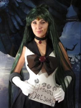 Sailor Pluto Fansign by foux86