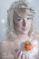 Frozen Apple by Stridsberg