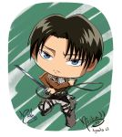 Colored Chibi Rivaille levi by FutagoFude-2insROID