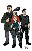 Expendables 2/Brave for Moviefone by dennisculver