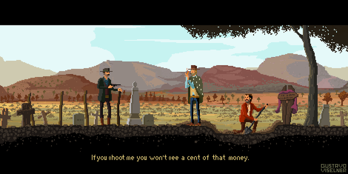 the Good, the Bad and the Ugly by gviselner