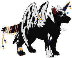 AUCTION -=Wolf Canine Adoptable 6-4=- CLOSED by Makojupiter