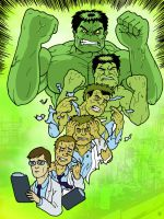 The Incredible Hulk by Eyemelt