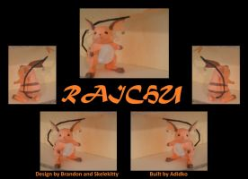 Paper Pokemon Raichu by Adisko