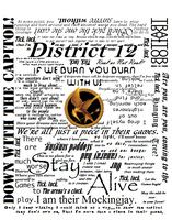 Hunger Games T-Shirt Design by ChuChuDarling81