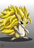 Super Saiyan 3 Sandslash by HurricaneJosh