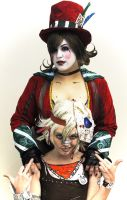 Mad Moxxi and Tiny Tina: Badassery Duo by II2DII