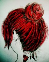 Red Hair by ViviMaslow