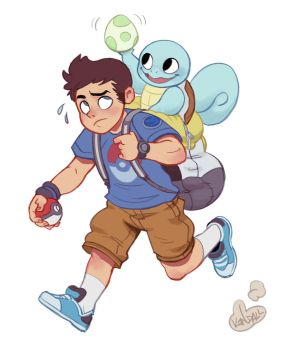 I can't PokemonStop by KendallHaleArt