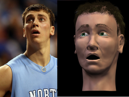 Tyler Hansbrough WIP 3 by teethonreed