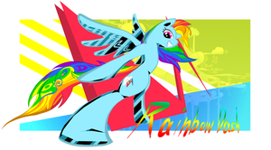 Rainbow Dash by pupupu6000