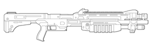 Halo M45 TS Lineart by MasterChiefFox