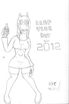 Leap Year Image 2012 by baroquemoon