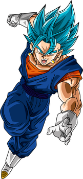 Vegetto SSJ Blue by SaoDVD