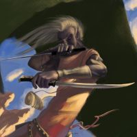 Drizzt Do'Urden by smalldeal
