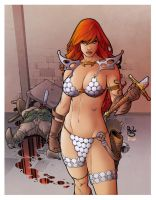 Red Sonja by Pask