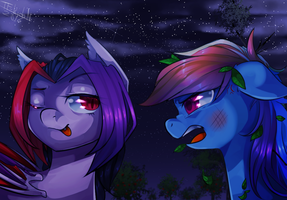 I want a rematch by TF-KidoNightmare