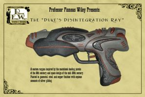 The Duke's Disintegration Ray by davincisghost