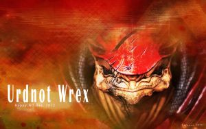 Urdnot Wrex: Happy N7 Day by Belanna42