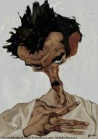 Egon Schiele by manohead