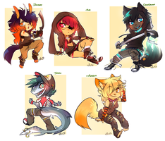 Commission Set by xMits